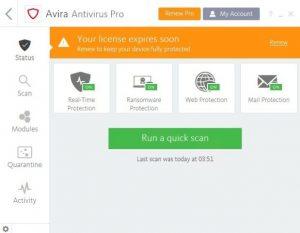 Avira Antivirus Pro 2021 Crack With Activation Code Free Download