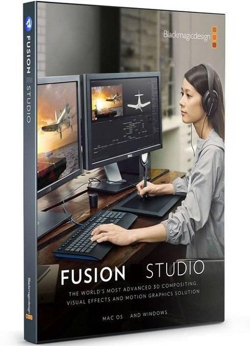 Blackmagic Fusion 17.2 Crack-Keygen Free